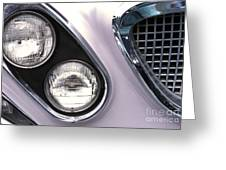 1962 Chrysler Newport Front End Greeting Card