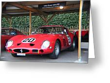 1962 Ferrari 250 Gto  Greeting Card