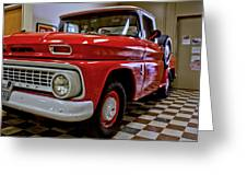 1963 Chev Pick Up Greeting Card
