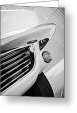 1963 Chevrolet Corvette Split Window Grille -221bw Greeting Card