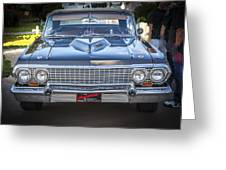1963 Chevrolet Impala Ss 409 Greeting Card
