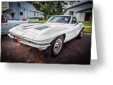 1963 Chevy Corvette Coupe Painted  Greeting Card