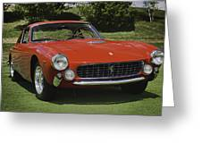 1963 Ferrari 250 Gt Lusso Greeting Card