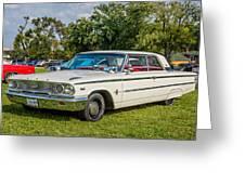 1963 Ford Galaxie 500xl Hardtop Greeting Card