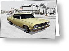 1964 Chevelle Greeting Card