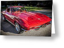 1964 Chevy Corvette Coupe  Greeting Card