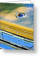 1964 Chrysler 300k Convertible Emblem -3529c Greeting Card