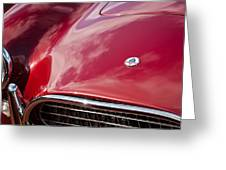 1964 Shelby 289 Cobra Grille -0840c Greeting Card