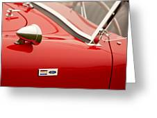 1964 Shelby Cobra 289 Street Roadster Emblem Greeting Card