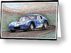 1964 Shelby Daytona Greeting Card