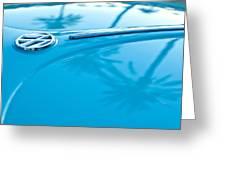 1964 Volkswagen Vw Bug Emblem Greeting Card