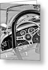 1965 Ac Cobra Steering Wheel Greeting Card