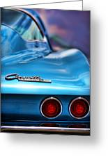 1965 Chevrolet Corvette Stingray Greeting Card