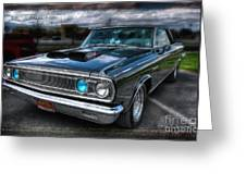1965 Dodge Coronet Greeting Card