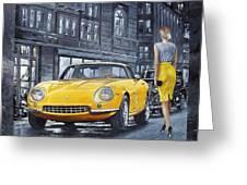 1965 Ferrari 275 Gtb Greeting Card