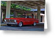 1965 Ford Falcon Greeting Card