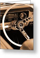 1965 Ford Mustang  Greeting Card