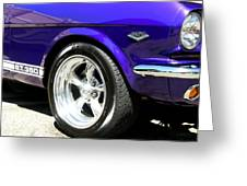 1965 Ford Mustang Gt350 Muscle Car Greeting Card