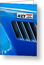 1965 Shelby Cobra 427 Emblem Greeting Card