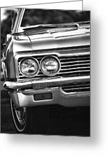 1966 Chevy Impala Ss Convertible Greeting Card