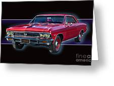 1966 Chevy Ss Greeting Card