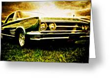 1966 Chrysler 300 Greeting Card by Phil 'motography' Clark
