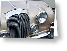1966 Daimler Mk2 Saloon Greeting Card