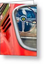 1966 Ferrari 275 Gtb Steering Wheel -0408c Greeting Card