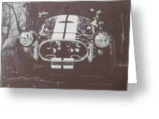 1966 Ford 427 Shelby Cobra/venom   Greeting Card