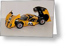 1966 Ford Gt40 - Diecast Greeting Card
