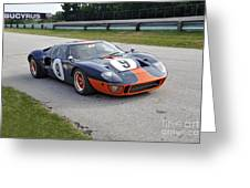1966 Ford Gt40 Greeting Card
