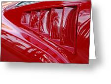 1966 Ford Mustang Gt Side Scoops -032c Greeting Card