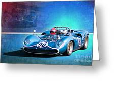1966 Lola T70 Greeting Card