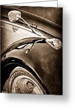 1966 Volkswagen Vw Greeting Card