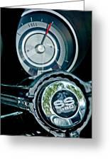 1967 Chevrolet Camaro  Ss Steering Wheel Emblem Emblem Greeting Card