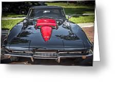 1967 Chevrolet Corvette 427 435 Hp Greeting Card
