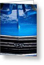 1967 Chevy Chevelle Ss Greeting Card by David Patterson