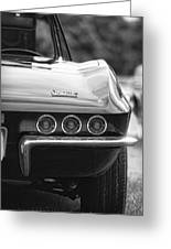 1967 Chevy Corvette Stingray Greeting Card