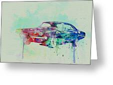 1967 Dodge Charger  2 Greeting Card by Naxart Studio