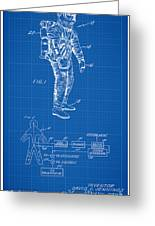 1967 Nasa Astronaut Ventilated Space Suit Patent Art 1 Greeting Card