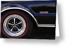 1967 Olds 442 Greeting Card