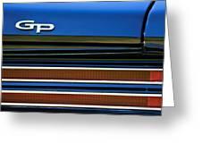 1967 Pontiac Hurst Grand Prix Convertible Taillight Emblem -3584c Greeting Card
