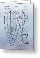 1967 Sailboat Patent Greeting Card