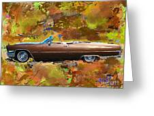 1968 Cadillac Deville Greeting Card