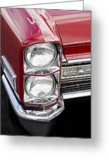1968 Cadillac Deville You Looking At Me Greeting Card