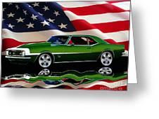 1968 Camaro Tribute Greeting Card