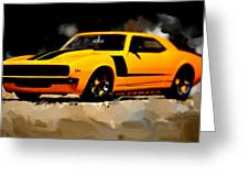 1968 Camero Z28 Greeting Card