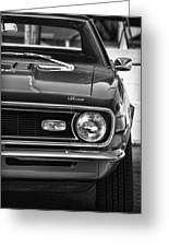 1968 Chevy Camaro Ss 350 Greeting Card