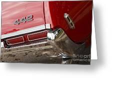 1968 Oldsmobile 442 Greeting Card