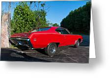 1969 Buick Gs Greeting Card